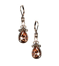 Givenchy® Court Silk Color Stones Drop Earrings