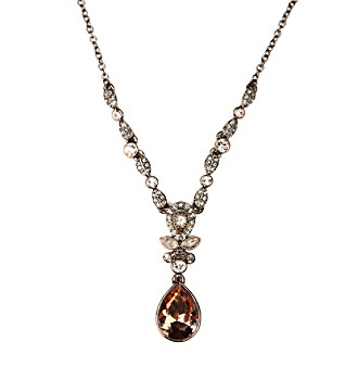 Givenchy® Court Silk Color Stones Y-Necklace