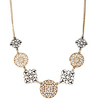 Lucky Brand® Two-Tone Metal Openwork Necklace