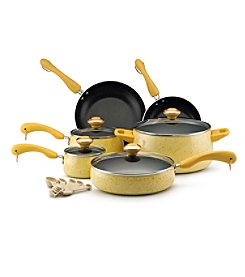 Paula Deen® Signature 15-pc. Butter Speckle Porcelain Enamel Nonstick Cookware Set