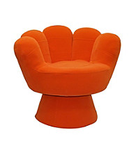 Lumisource® Orange Regular Size Mitt Chair™