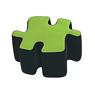 Lumisource® Two-Tone Puzzotto™ Black/Green
