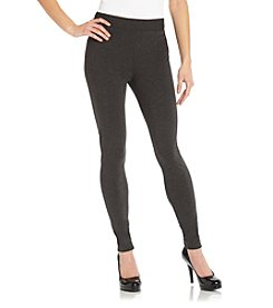Vince Camuto® Dark Heather Gray Ponte Leggings