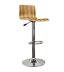 Baxton Studios Milka Adjustable Bar Stool