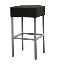 Baxton Studios Andante Black Counter Stool