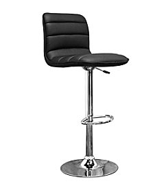Baxton Studios Lyris Black Modern Bar Stool