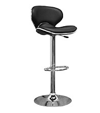 Baxton Studios Orion Black Modern Bar Stool
