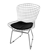 Baxton Studios Bertoia Style Wire Side Chair