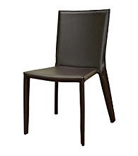 Baxton Studios Semele Brown Dining Chair