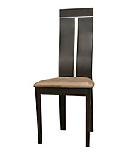 Baxton Studios Magness Dark Brown Modern Dining Chair