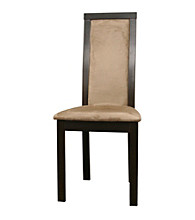 Baxton Studios Pollard Dark Brown Modern Dining Chair