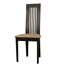 Baxton Studios Farrington Dark Brown Modern Dining Chair