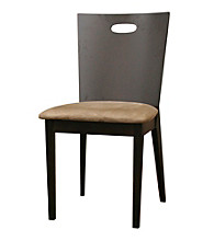 Baxton Studios Lamar Dark Brown Modern Dining Chair