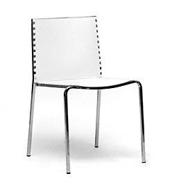 Baxton Studios Gridley Plastic Modern Dining Chair