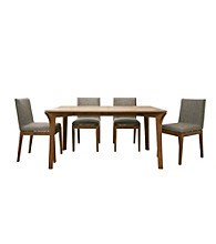 Baxton Studios Mier Brown Modern Dining Collection