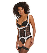 Jezebel Dolled Up Waist Cincher - Black