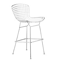 Zuo Modern Set of 2 Wire Bar Chairs