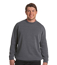 Reebok® Men's Big & Tall Play Dry® Fleece Crewneck