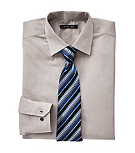 Synrgy Men's Big & Tall Fancy Dress Shirt