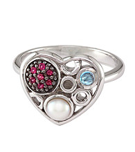 Effy® Sterling Silver Freshwater Pearl Ring