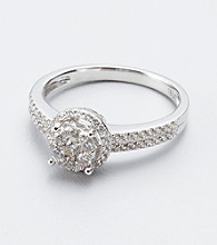 Effy® .48 ct tw. Diamond and 14K White Gold Ring