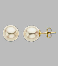 9-9.5mm Freshwater Pearl Stud Earrings