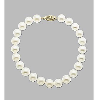 "8-8.5 MM Freshwater Pearl 8"" Bracelet"