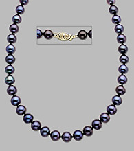 7-7.5 MM Black Freshwater Pearl 18