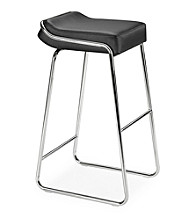 Zuo Modern Set of 2 Wedge Barstools