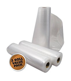 Weston 3-pk. Medium Vacuum Sealer Roll Bags