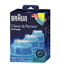 Braun Clean & Renew 3-count Refills for Braun Shavers