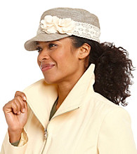 Relativity® Flower Lace Cadet Fashion Hats