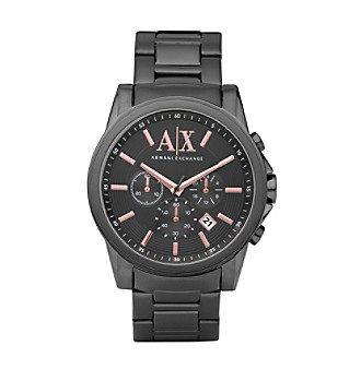A|X Armani Exchange Men's Gray Stainless Steel Classic Watch