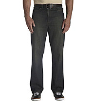 True Nation® Men's Big & Tall Whiskey Tinted Relaxed-Fit Jeans