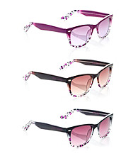 Betsey Johnson® Animal Fade Sunglasses