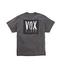 Men's Big & Tall Charcoal Heather VOX® Vodka Screen Tee