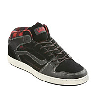 Vans® Men's Big & Tall Black/Red Edgemont Skaters