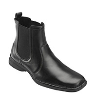 Unlisted® by Kenneth Cole Men's Big & Tall Black Leather Fire Sign Boots