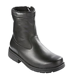 Propét® Men's Big & Tall Black Ryan Zip Boots
