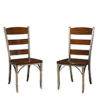 Home Styles® Tribeca Set of 2 Dining Chairs Birch