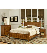 Home Styles® Prairie Oak Bedroom Collection Cottage Oak