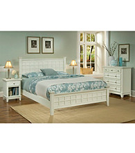 Home Styles® Prairie White Bedroom Collection