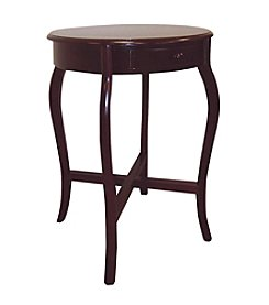 Ore International™ Round Cherry End Table
