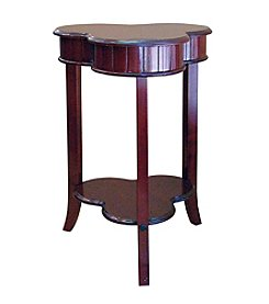 Ore International™ Shamrock Cherry End Table