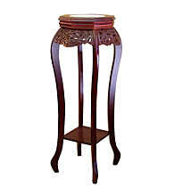 Ore International™ Cherry Flower Stand with Ceramic Top