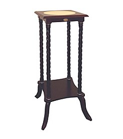 Ore International™ Cherry Square Flower Stand with Ceramic Top