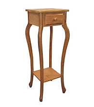 Ore International™ Oak Plant Stand