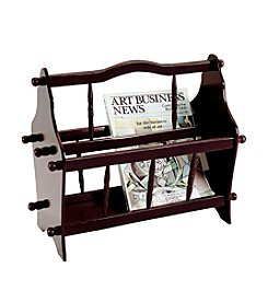Ore International™ Magazine Rack