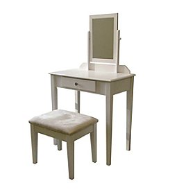 Ore International™ White Vanity Set