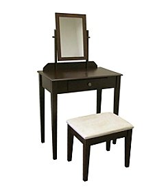 Ore International™ Espresso Vanity Set